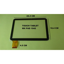 Touch Cristal Tablet Mx Pad 1042 Sep Gobierno