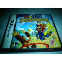 Nintendo Ds Mario Hoops 3 On 3