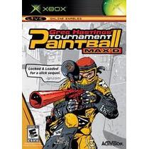 Greg Hastings Tournament Paintball Para Xbox Como Nuevo Wow