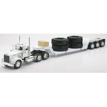Vbf Trailer Colección Kenworth Lowboy W/big Tires 1:32