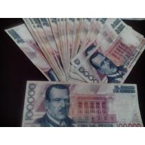 Billete 100,000 Pesos Plutarco Elias Calles