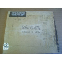 Radar Nothing Is Real Cd 2002 Lounge Fusion Arabe India