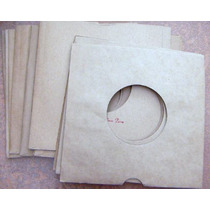 Fundas De Carton Para Discos De 7´, 6 ,usd La Docena