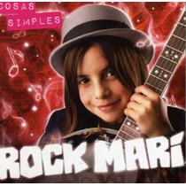 Rock Mari Cosas Simples Cd Sencillo Raro