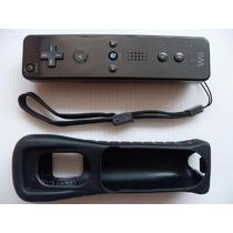 Control Remote Controller Wii Color Negro (nuevo) Vv4