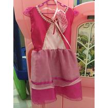 Vestido Disfraz Dora La Exploradora Marca Nick Talla 8