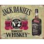 Poster Metalico Litografia Letrero De Lamina Jack Daniel's O