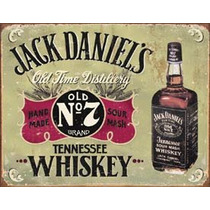 Poster Metalico Litografia Letrero De Lamina Jack Daniel
