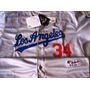 Jersey Authentic Collection De Fernando Valenzuela Talla 2xl