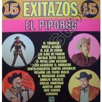 Discos Acetato De 15 Exitazos El Piporro