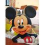 Centro De Mesa Mickey Mouse De Madera Mdf Para Cumplea�os