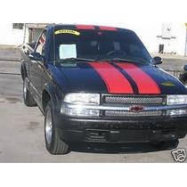 Sticker Franja Linea Deportiva Para Chevrolet Sonama S10
