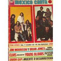 Revista México Canta, Los Doors Y The Turtles En Portada