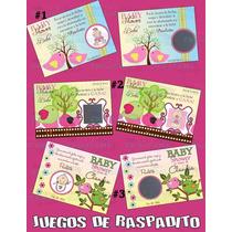 Juegos De Raspadito Pajaritos Para Baby Shower-baby Shower