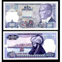 Turquia 1000 Lirasi 1986 Fatih Sultan Mehmed Mmu