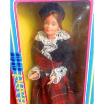 Barbie Scottish De Princesas Del Mundo Del Ano 1980s