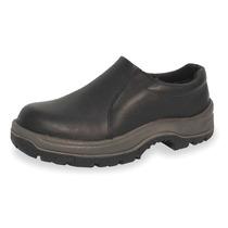 Zapato Industrial 7 Negro Acero Todo Cuero Duramax