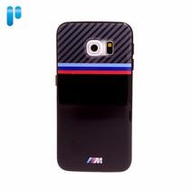 Funda Bmw Tpu Samsung Galaxy S6 Edge Negro Original