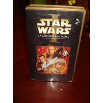 Star Wars Episodio I 2001 Vhs Video No Dc Y Marvel Comics