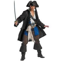 Disfraz / Disfraces Jack Sparrow Adultos Piratas Del Caribe