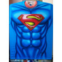 Playera Aerografia Torso Superman Comic Dc Cine Tv Aerografo