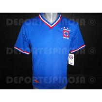 Jersey Cruz Azul Umbro Retro 70s Azul
