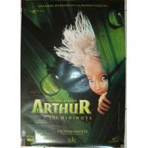 Póster De Cine: Arthur Y Los Minimoys 70x100 Cm