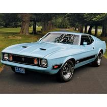 Defensa Delantera Mustang 1971-1972 Y Partes Relacionadas