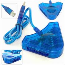 Adaptador O Convertidor Usb Pc A Ps1 Ps2 Psx Control Play S