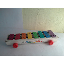 Fisher Price Juguete Antiguo 1978 Demadera