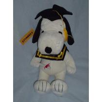 Snoopy Graduado. Solo Los Mejores Personajes Con Depeluche