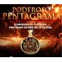 Pentagrama En Chapa De Oro De 18k,con Aleacion De 7 Metales