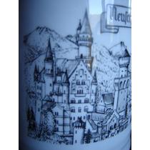 Tarro Cerveza Aleman Ceramica Fina Neuschwanstein
