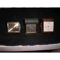 Relojes De Viajero Antiguos Para Reparar O Refacciones-lote