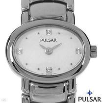 Reloj Pulsar By Seiko Para Dama, Acero Inxidable 6 Sp0