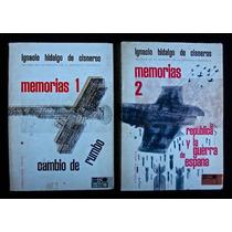 Memorias 1 Y 2 - Hidalgo De Cisneros. 2 Tomos
