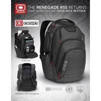 Mochila Backpack Ogio Renegade Rss Black Pindot