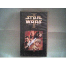 Pelicula Vhs Star Wars, La Amenaza Fantasma (el Episodio 1)