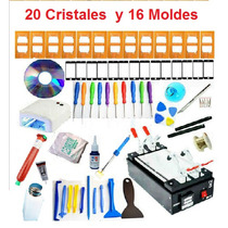 Kit Maquina Separadora Lcd Touch 20 Cristales Y 16 Moldes