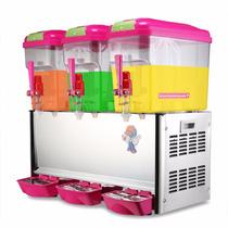 Dispensador Enfriador Triple Bebidas Agua Comercial 18 Lts