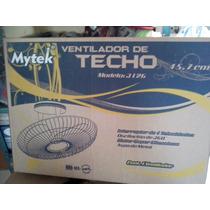 Ventilador Mytek 3126 Loco Aspas Metal Merida