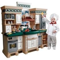 Cocinita Step2 Grande Juguete Juego Cocina Chef Deluxe Op4