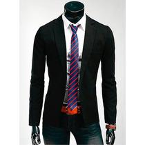 Saco Blazer Hombre Formal Casual Slim Fit Moda Juvenil