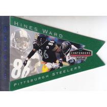 1998 Contenders Rookie Pennants Felt Hines Ward Wr Steelers