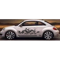Sticker Dragon Vinil Tuning Vocho, Chevy Atos Betlee
