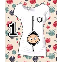 Blusas De Embarazo Divertidas Maternidad 80 Diferentes 4x3!!