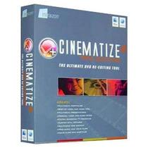 Software De Edición De Video Dvd Cinematize 2 Pro Edition