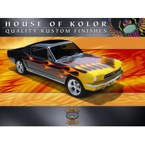 Pintura House Of Kolor Choppers Flamas Kandys