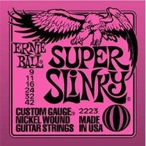 Idd Encordado Ernie Ball Super Slinky Precio Promo!! 9-42