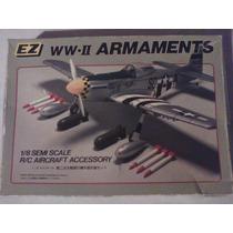 Accesorios Avion A Radio Control Escala 1/8 Armamento Wwii